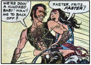 panel from 70's Romance Comic