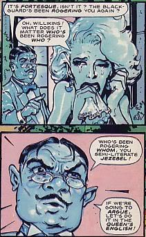 amusing panel from paradax by McCarthy and Milligan