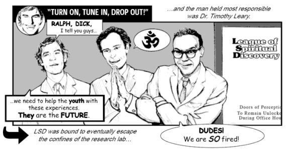 This History of LSD as a Jack Chick Tract