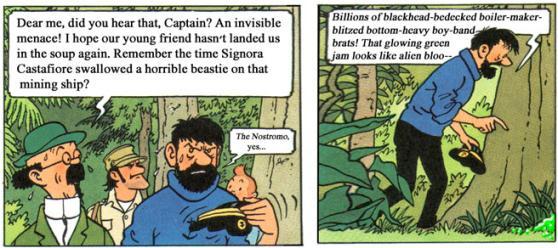 Tintin vs. Predator