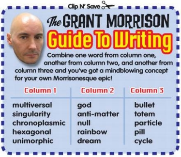 The Grant Morrison Guide To Writing