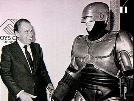 Richard Nixon and Robocop