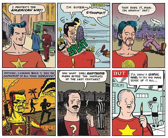 American Comic Book History In Six Panels