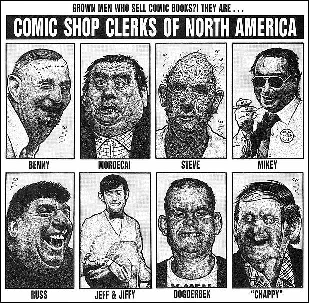 Comic Shop Clerks of America