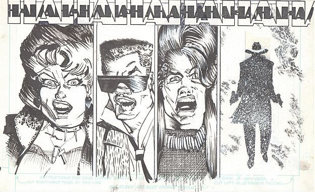 Panels from Howard Chaykin's Shadow