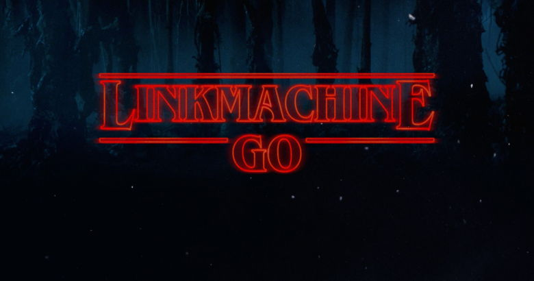 LinkMachineGo Stranger Things Logo