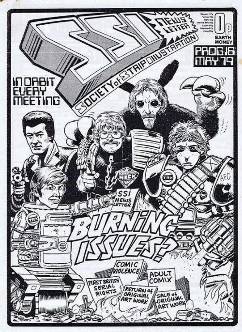 Jam Comic cover - Bolland, Gibbons, O'Neill & McMahon