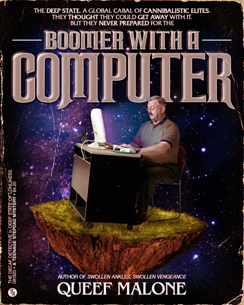 Boomer with a Computer