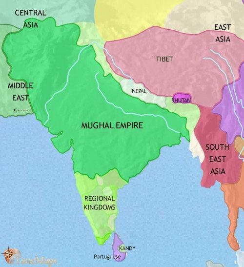 The Mughal Empire | history of Haridwar, Uttarakhand