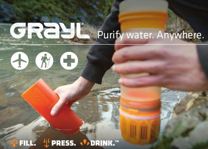 Purifier Bottle The Grayl