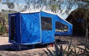 Motorcycle Camper Trailer | Time Out Deluxe Camper & Addon's