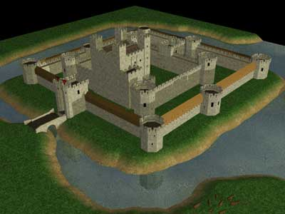 Concentric Castles Timeref Meval And Middle Ages History Timelines