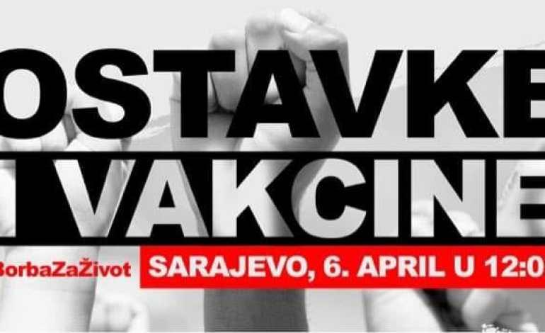 Objavljen plan protesta 6. aprila u Sarajevu, okupljanje građana na tri lokacije!