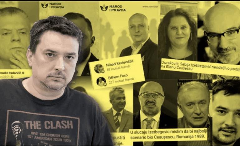 POLITBIRO Poruka medijskim zločincima: Jedna vreća smeća za mog šefa Bakira…