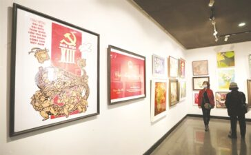 Vibrant spring energy on show in art exhibition - Life & Style - Vietnam News | Politics, Business, Economy, Society, Life, Sports
