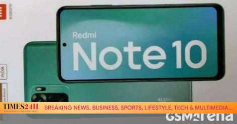 Redmi Note 10 retail box reveals AMOLED display, 48MP main camera