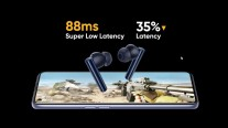 Buds Air 2 have the lowest latency among current Realme wireless headphones
