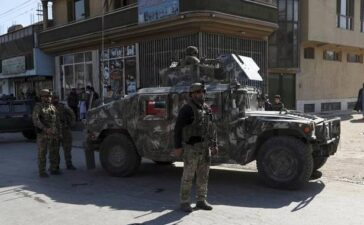 Afghan officials: Separate blasts in Kabul kill 3, wound 4