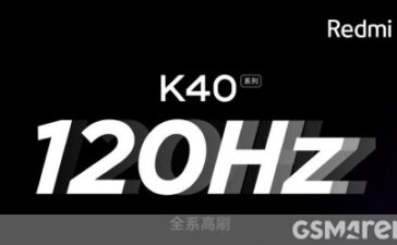 Redmi K40 banners reveal the series will feature 120Hz Samsung E4 material OLED panels