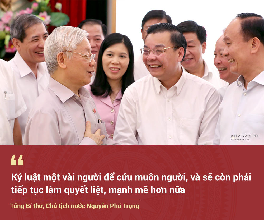 Party Secretary General, State President Nguyen Phu Trong and determination to clean and purify the apparatus