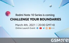 Watch the Redmi Note 10 series global launch event live