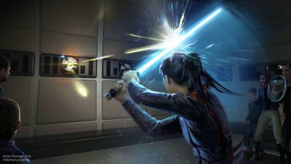 Star Wars: Galactic Starcruiser Resort to Offer Lightsaber Training
