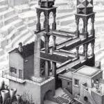 Redefining hierarchy: Escher's waterfall
