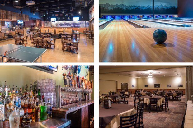 A bowling alley, games, banquet rooms and multiple bar areas make The Wild Game a flexible space for any event.