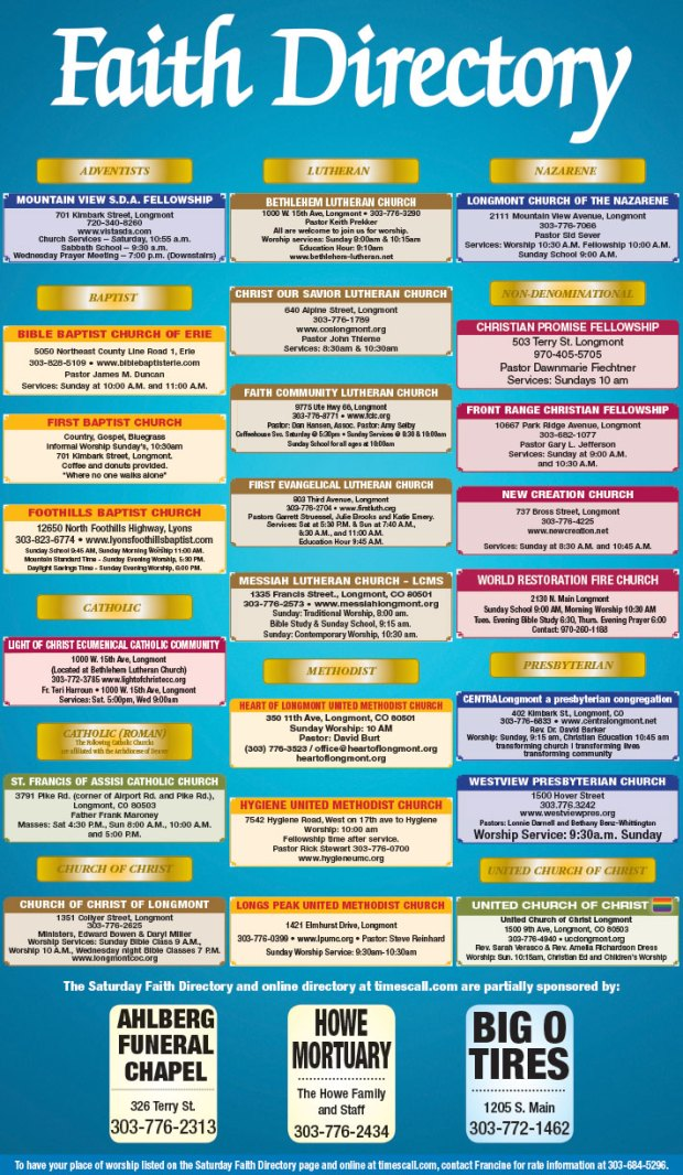 Faith Directory