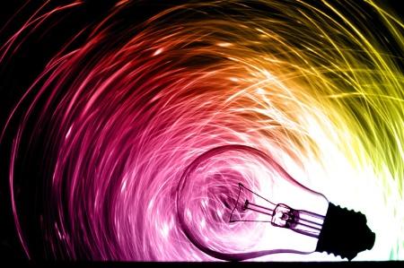 Lightbulb idea (concept)