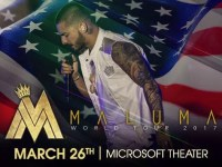 Catch Maluma on this March 26th At Microsoft theater, Los Angeles