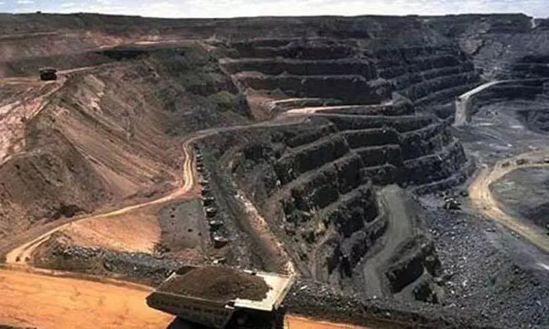 CHINA CLOSES mines and plant trees
