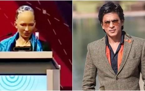 Sophia and SRK
