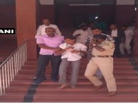 Stabbing Of Lokayukta Vishwanatha Shetty Shows How Crime Has Skyrocketed In Bengaluru Under Congress