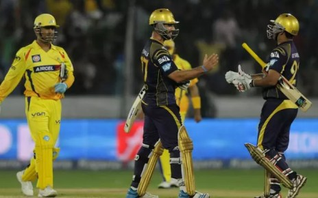 Kolkata Knight Riders vs. Chennai Super Kings