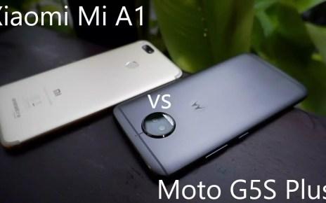 Moto G5S Plus vs. Xiaomi Mi A1