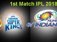 Websites and Apps To Watch Live Online Streaming of Mumbai Indians vs. Chennai Super Kings – IPL 2018
