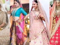 The stunning colors for new age bridal outfits