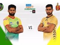 PKL Day 12: Telugu Titans & Puneri Paltan won the match with 4-point lead