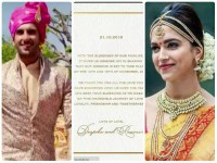 Are you equally excited for Ranveer-Deepika's wedding?