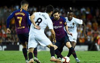 Image result for valencia vs barcelona