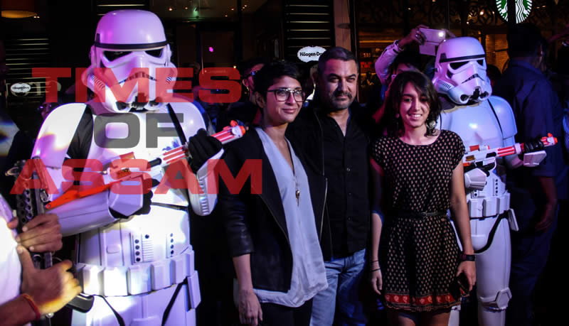 Aamir Khan at the red carpet of Star Wars