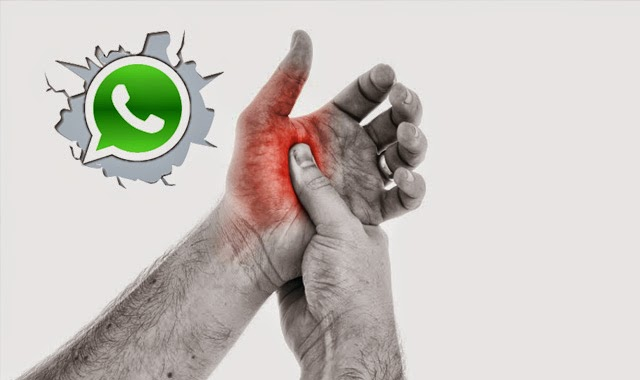 Whatsappitis- It does exist!