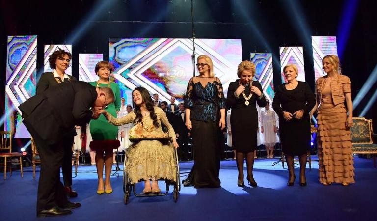 Muniba Mazari wins Karic Award in Serbia