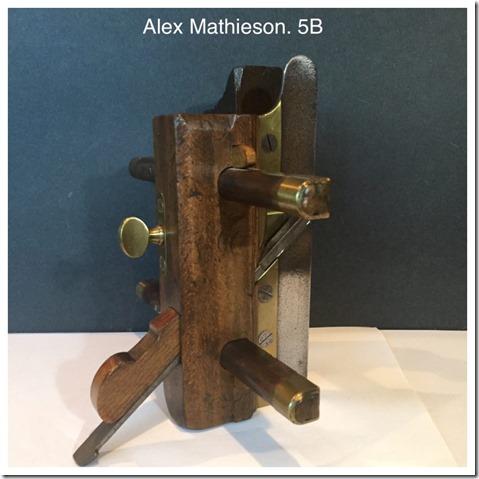 Alex Mathieson 5B