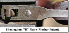 B Plane Mosher Patent