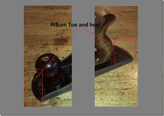 Stanley Type16 Rib-Toe