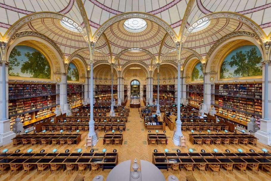 Bibliothèque Nationale de France Run My City
