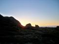 Sonnenuntergang Kapiti Island