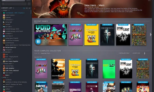 Steam Library (finally) to get Overhaul